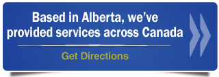 Based in Alberta, we've provided services across Canada